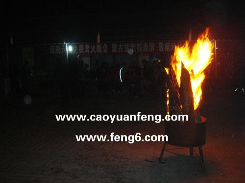 周六晚篝火晚会、蒙古族歌舞表演纪实(精)