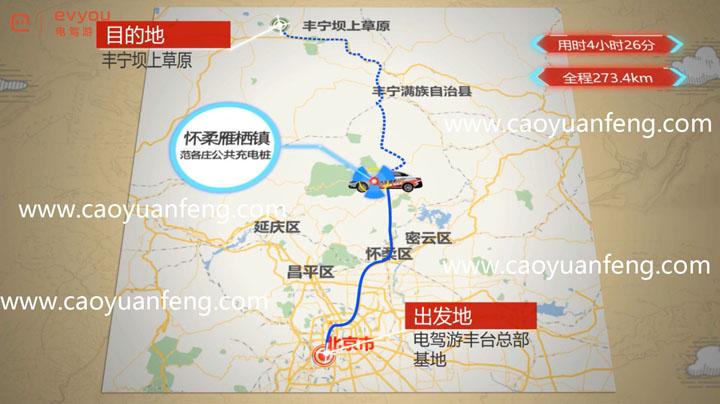丰宁坝上电动汽车自驾攻略及充电桩位置 实地考察