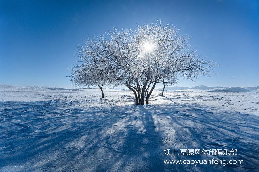 坝上风光美景之冬季摄影