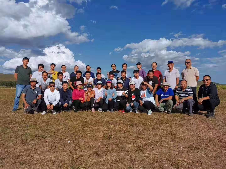 高总团队70人 坝上团建拓展2日游