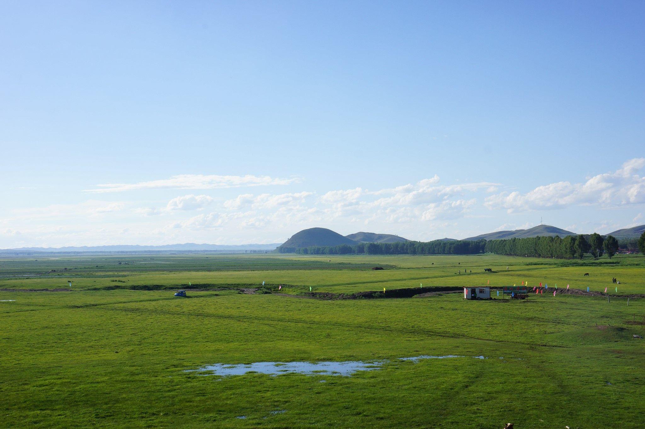 丰宁坝上之夏----绿色草原,美丽的远方