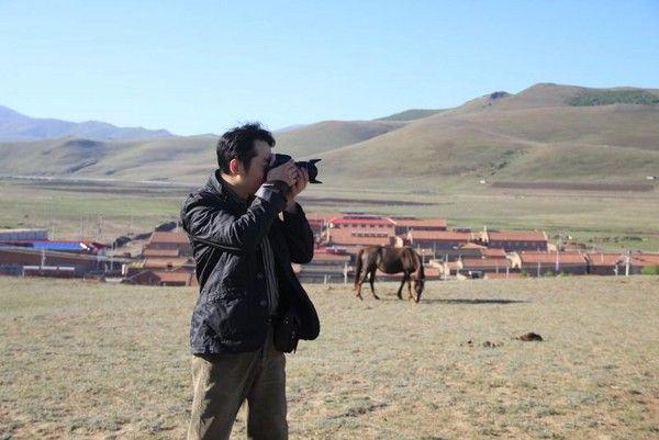 丰宁坝上海流图一群马疯子游牧