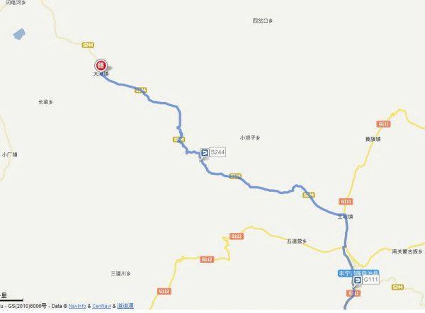 丰宁凤山镇地图