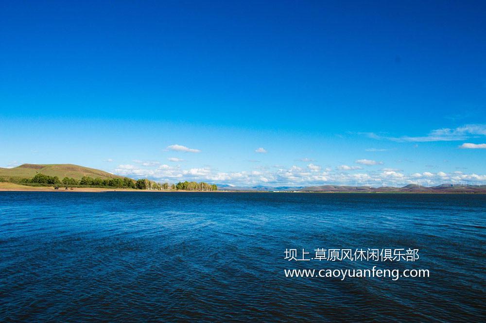 闪电湖美景