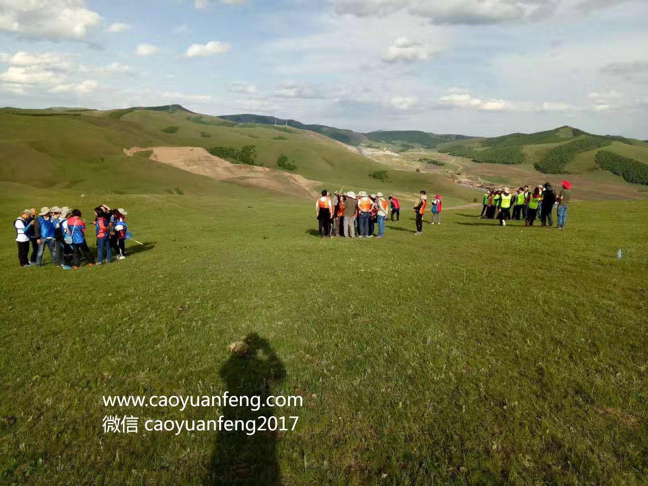 坝上草原公司徒步团建拓展训练两日游
