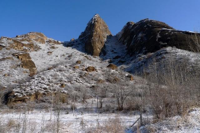 丰宁坝上赏雪景 飘雪坝上风光摄影